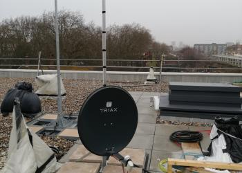 Satellite on roof Installation Hemel Hempstead