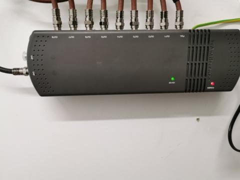 NEW 8 WAY + 1 FULL OUTPUT DISTRIBUTION AMPLIFIER IN HARPENDEN